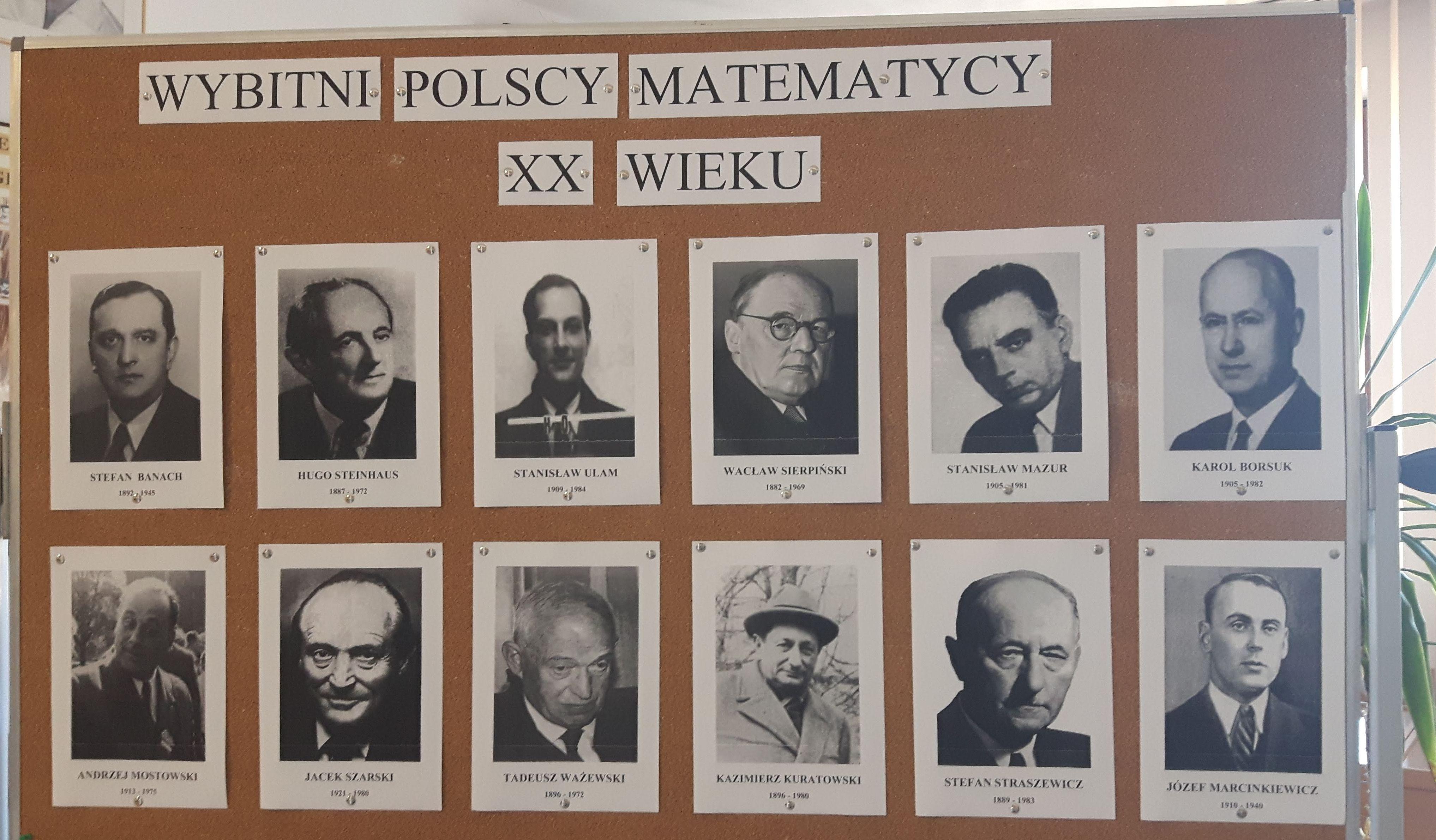 """Wystawa """"Polska myśl matematyczna 1918 – 2018"""""""